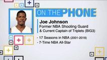 Tiki and Tierney: Joe Johnson talks Hawks and Nets offseason