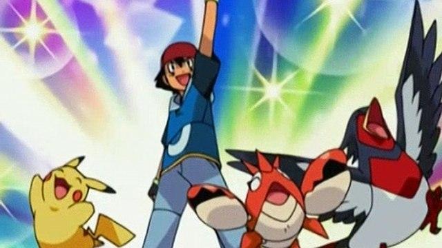 Pokemon Season 9 Episode 17 Spontaneous Combuskin!
