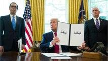 Trump Puts Sanctions On Iranian Supreme Leader