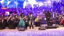 """وزيرة الثقافة تعزف على """"الفلوت"""" في ذكرى دخول العائلة المقدسة مصر"""
