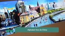 Alphabet fora da China