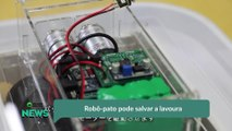 Robô-pato pode salvar a lavoura