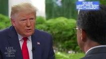 Stephen Interviews Chuck Todd's Interview Of President Trump
