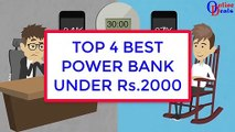Top 4 Best powerbank in india under Rs.2000 [Hindi]