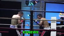 Garcia vs Morales ALL THE ACTION in the ring check out the fights