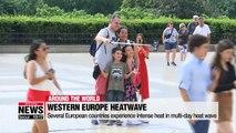 Western Europe experience 'intense heat' in multi-day heatwave
