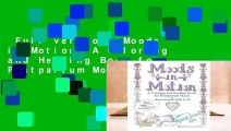 Full version  Moods in Motion: A Coloring and Healing Book for Postpartum Moms Complete