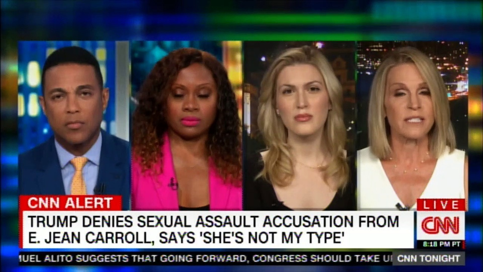 Panel on Trump denies sexual assault accusation from E. Jean Carroll, says 'She's not my t