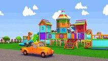 Voiture de police et Tom la dépanneuse | Voitures et camions dessins animés pour les enfants