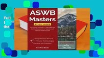 Full E-book Aswb Masters Study Guide: Exam Prep & Practice Test Questions for the Association of