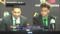 Grant Williams Downplays Comparison To Kawhi Leonard