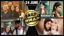 Ranbir Alia In New York, Janhvi's RoohiAfza First Look, Sara Kartik New Picture | Top 10 News