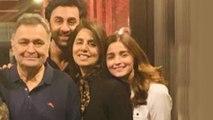 Alia Bhatt POSES With Ranbir Kapoor, Aishwarya, Abhishek, Aaradhya In New York
