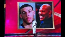 Shaq roasted Lonzo Ball and LaVar Ball with a jaw-dropping joke at NBA Awards show