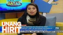 Unang Hirit: Kapuso sa Batas: Pananagutan ng motoristang hindi sumunod sa weight limit ng isang service road