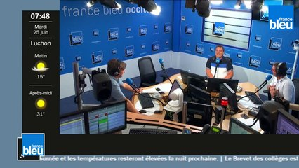 France Bleu Occitanie matin du mardi 25 juin 2019