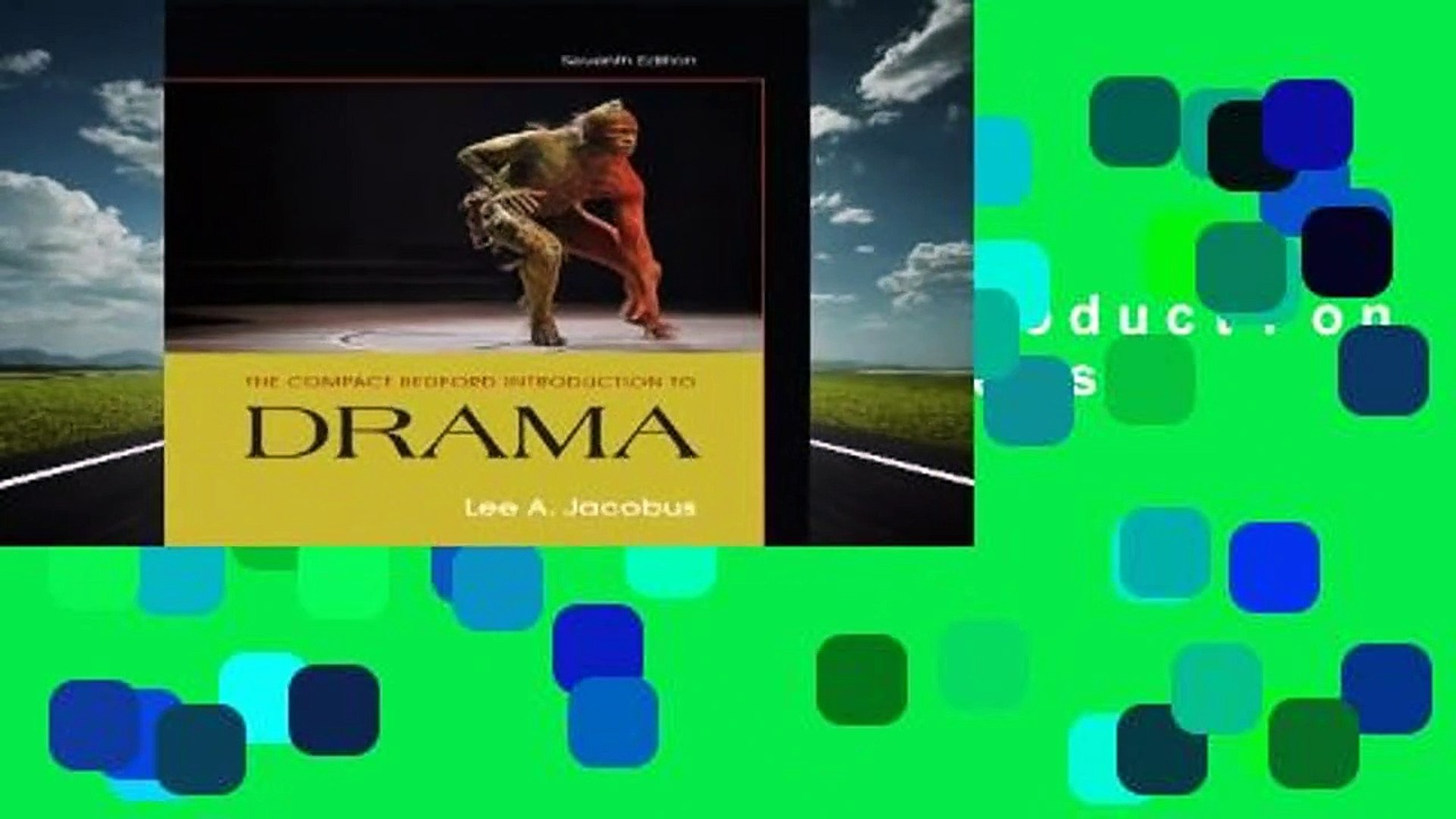 About For Books  The Compact Bedford Introduction to Drama  Best Sellers Rank : #5