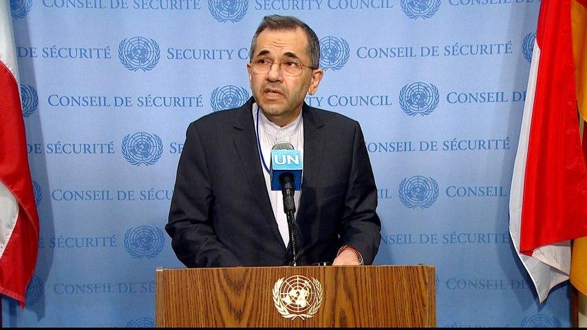 UN advises 'maximum restraint' in US-Iran dispute