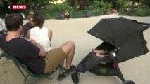 Paris : les parcs et piscines font le plein