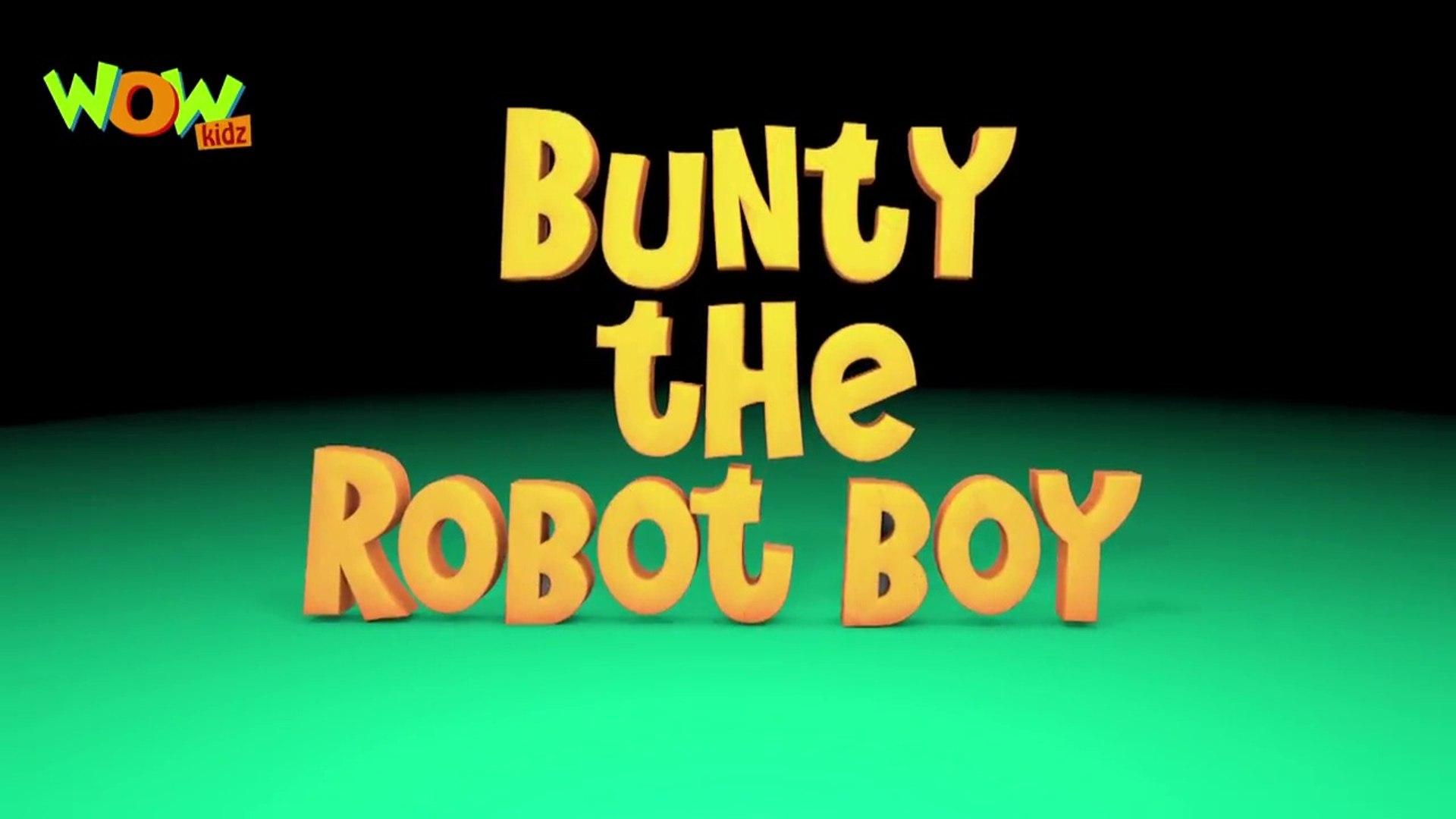 Bunty the robot boy - Vir The Robot Boy