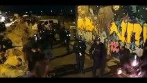 Nantes - L'évacuation musclée de la police pour mettre fin à un concert provoque la chute de 14 personnes dans la Loire