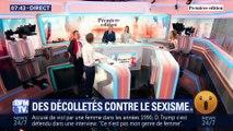 Des décolletés contre le sexisme