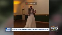 Couples scammed out of wedding video