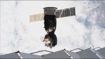 Retour sur Terre pour trois astronautes de la station ISS