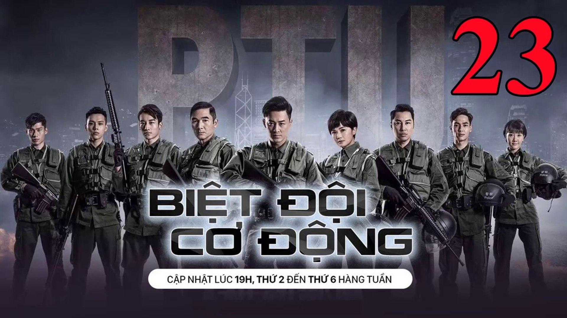 Phim Hành Động TVB: Biệt Đội Cơ Động Tập 23 Vietsub | 机动部队 Police Tactical Unit Ep.23 HD 2019