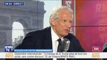"""Dominique de Villepin: """"Parier sur l'idée qu'il n'y a pas d'alternative à Emmanuel Macron est une faute politique"""""""