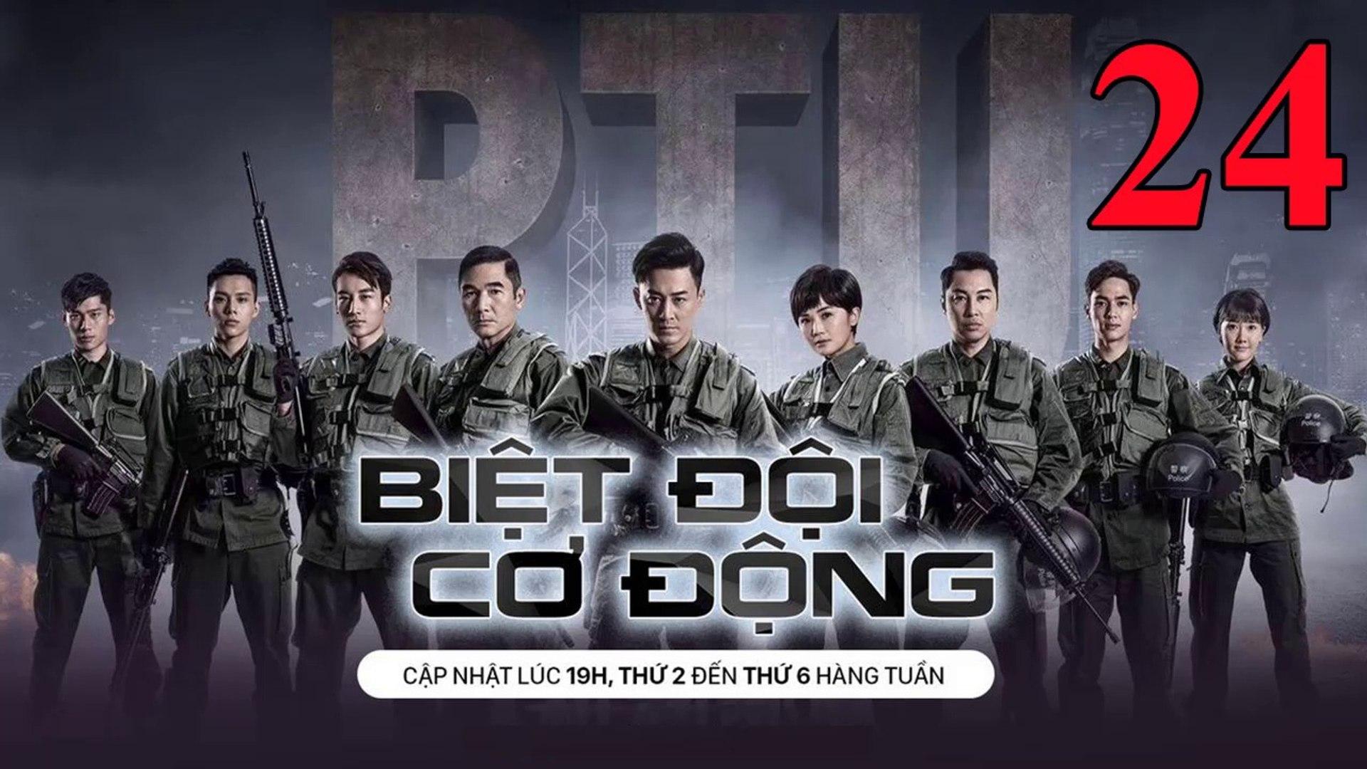 Phim Hành Động TVB: Biệt Đội Cơ Động Tập 24 Vietsub | 机动部队 Police Tactical Unit Ep.24 HD 2019