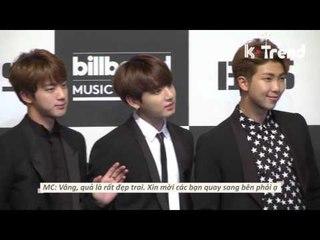 [ENG/VIET] BTS @ Billboard Music Awards Press Conference