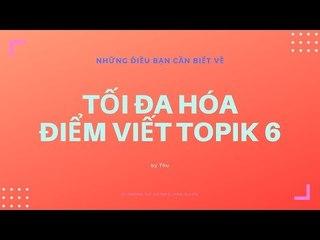 KTREND'S WEDNESDAY LIVESTREAM - CACH TOI DA DIEM VIET TOPIK 6