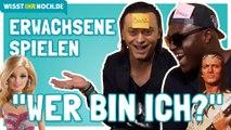 Barbie vs. Winnetou: Wer bin ich? Nana, Julian F.M. Stöckel, Dennis & Malte spielen das Partyspiel