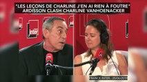"""""""les leçons de Charline j'en ai rien à foutre"""": Ardisson clash Charline Vanhoenacker"""
