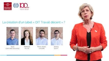 Université Toulouse Capitole - 100 ans de l'OIT (Organisation Internationale du Travail)