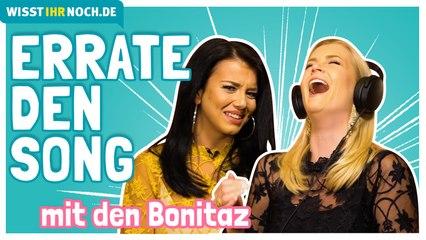 """Errate den Song durch """"Murmeln""""! - Das Schlager-Duo Bonitaz soll 90er-Songs erraten"""
