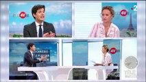 """Canicule : """"Nous nous sommes préparés le mieux possible"""", indique Julien Denormandie"""