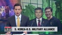 S. Korea, U.S. defense chiefs reaffirm strong alliance