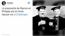 Popularité: Macron et Philippe en forte hausse