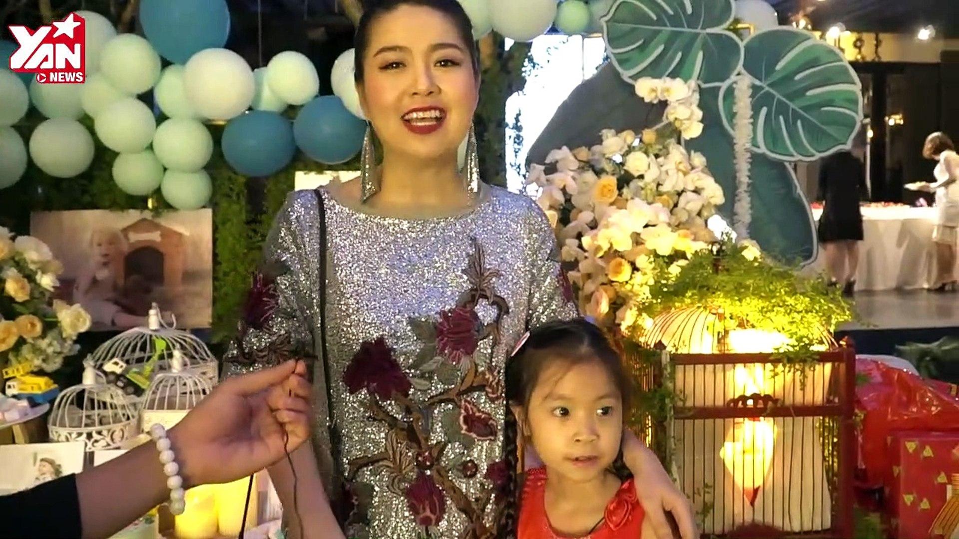 Pv dàn sao đến tham dự sinh nhật con trai Lương Thế Thành