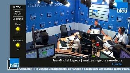 L'invité France Bleu Occitanie du mardi 25 juin