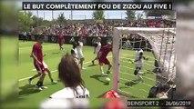 Le but complètement fou de Zizou au five !