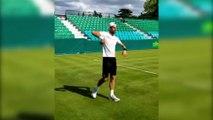 Lucky tradition of Novak Djokovic