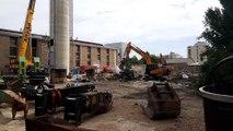 Mâcon : c'est parti pour la démolition de la cheminée de Bioux