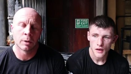 ANTHONY FOX REACTS TO UNANIMOUS DECISION VICTORY AGAINST DUANE 'HOT SHOT' SINCLAIR @ YORK HALL