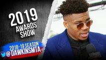 Giannis Antetokounmpo Interview - 2019 NBA Awards Show