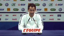 Philippe Joly «Clairefontaine ? On prend volontiers» - Foot - CM 2019 - Bleues