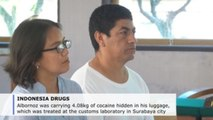 Peruvian sentenced to 10 years in prison for cocaine trafficking in Indonesia