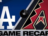 D-backs score 4 in 8th, hold on for 8-5 win - Dodgers-D-backs Game Highlights 6/24/19